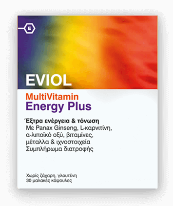 πολυβιταμίνες eviol multivitamin energy plus